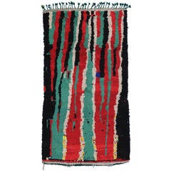 Modern Berber Moroccan Rug with Contemporary Abstract Design