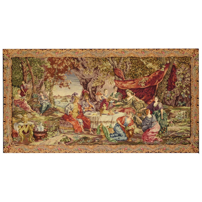 Late 19th Century English Needlepoint Tapestry At 1stdibs