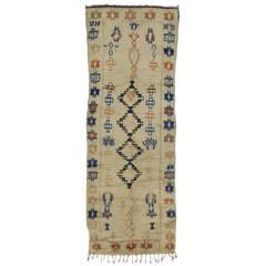 Vintage Azilal Moroccan Carpet Runner