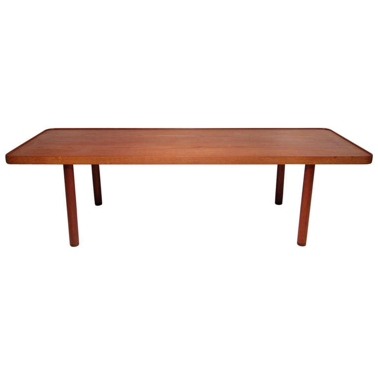 Teak And Wenge Coffee Table By Madsen And Larsen For Sale At 1stdibs