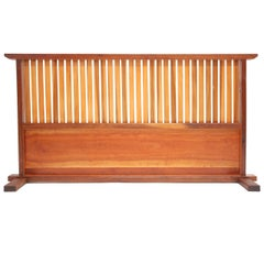 Small Japanese Style Room Divider by Teruo Hara