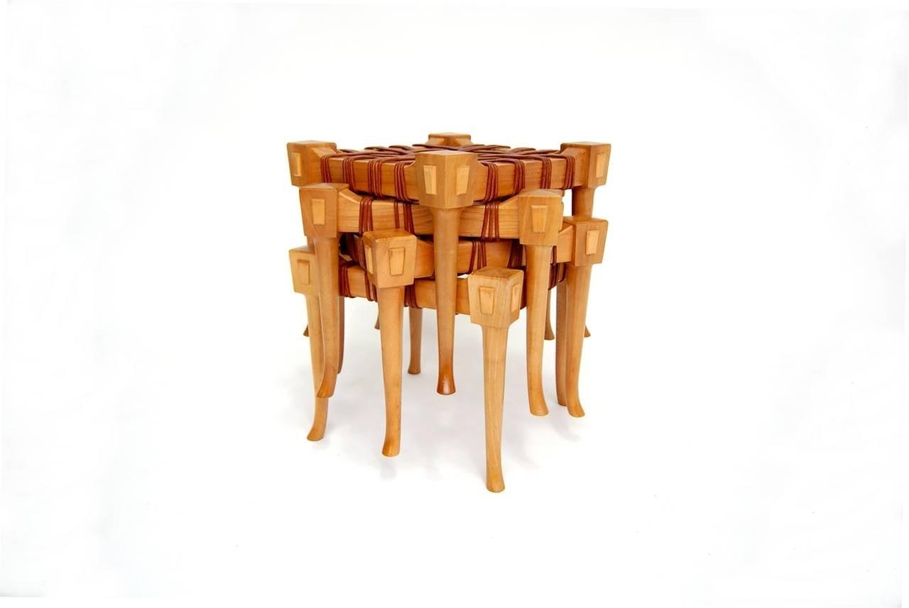 klismos stool ~ four klismos style stools at 1stdibs