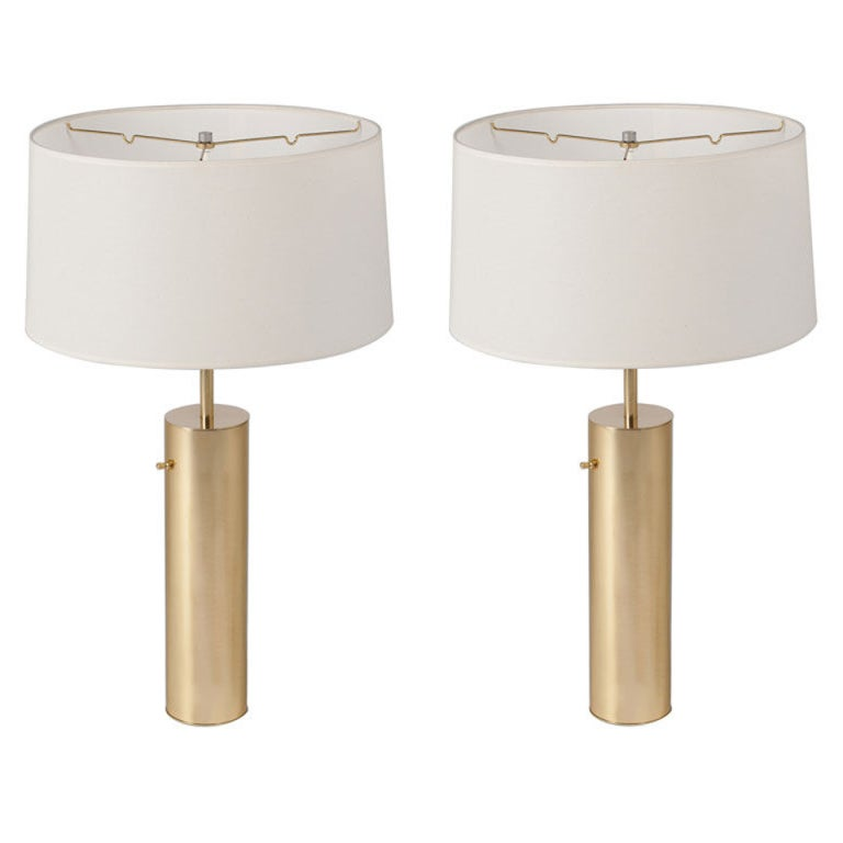 Pair of Nessen Table Lamps (two pairs available)