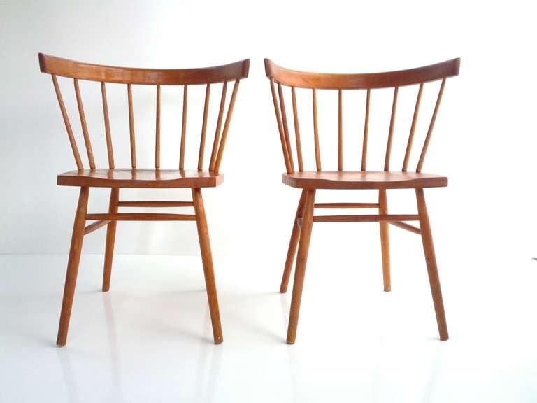 Pair Of Nakashima Chairs 2