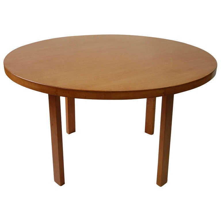 model 91 dining table by alvar aalto at 1stdibs. Black Bedroom Furniture Sets. Home Design Ideas