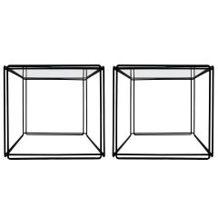 Pair of 'ISOCELE' Tables by Max Sauze