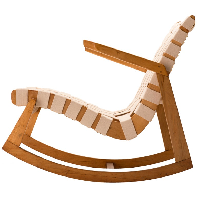 Rare ralph rapson for knoll rocking chair at 1stdibs - Knoll rocking chair ...