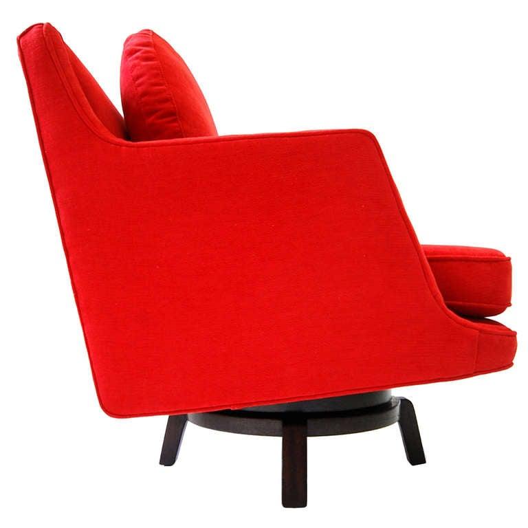 Dunbar Swivel Chair Designed by Edward Wormley