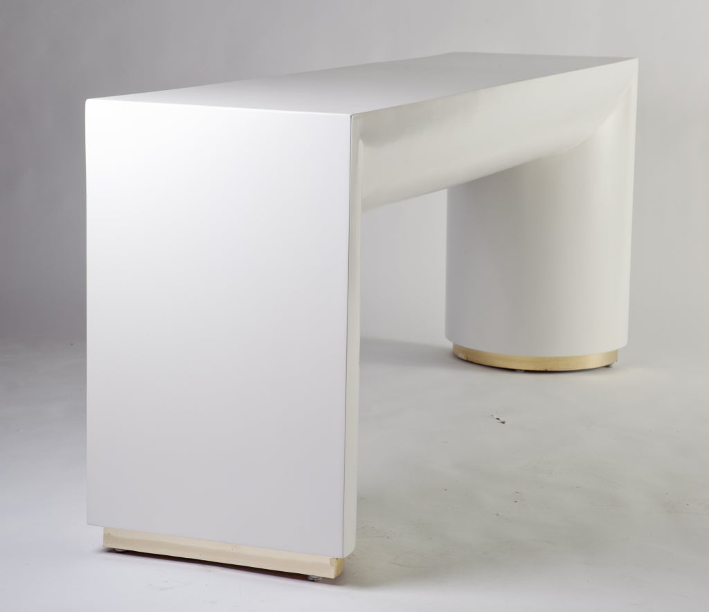 Console table and mirror by jay spectre for sale at 1stdibs - Table console miroir ...