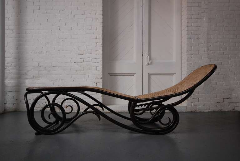 thonet chaise lounge at 1stdibs