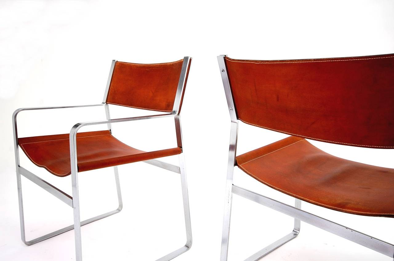 Scandinavian Modern Pair of Hans Wegner Chairs for Johannes Hansen For Sale