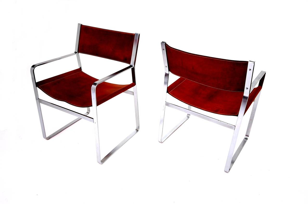 20th Century Pair of Hans Wegner Chairs for Johannes Hansen For Sale