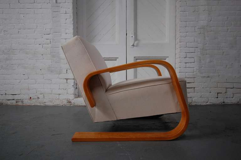 Early Alvar Aalto Tank Lounge Chair At 1stdibs