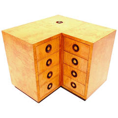 Diminutive Corner Cabinet by Andrew Szoeke