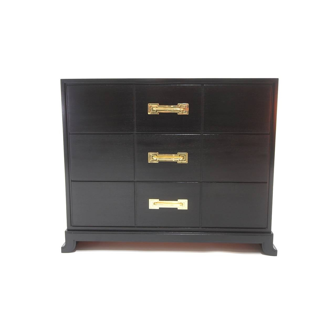 Ebonized Chest of Drawers by Tommi Parzinger 2