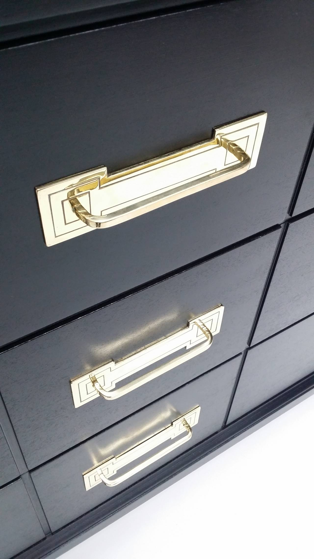 Ebonized Chest of Drawers by Tommi Parzinger 3