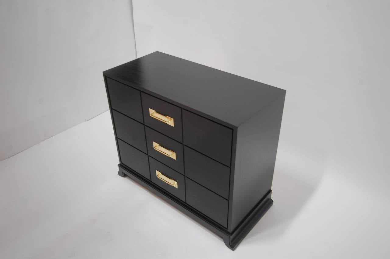 Ebonized Chest of Drawers by Tommi Parzinger 7