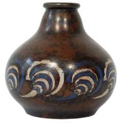 Primavera Bronze Cloisonné Vase
