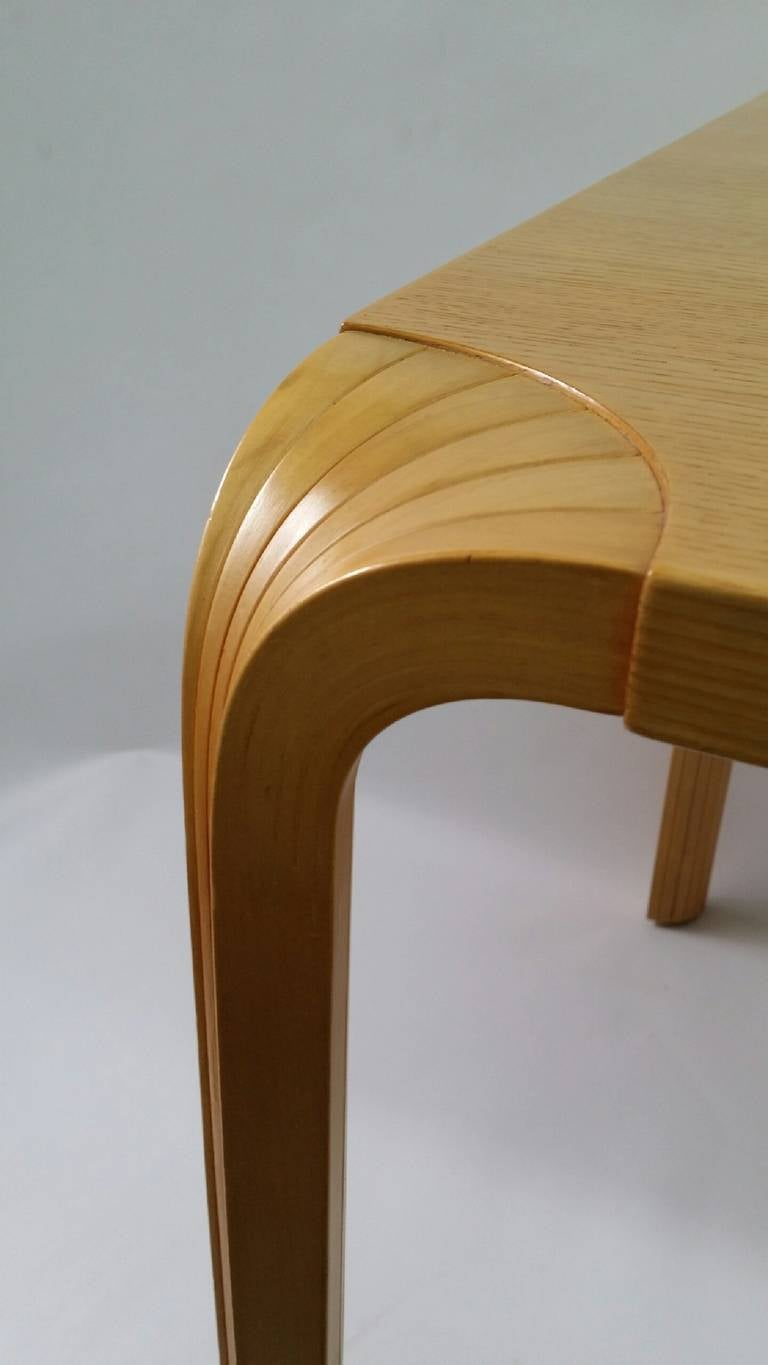 Alvar Aalto Fan Leg Dining Table Or Writing Desk, Designed Circa 1950, And  Produced