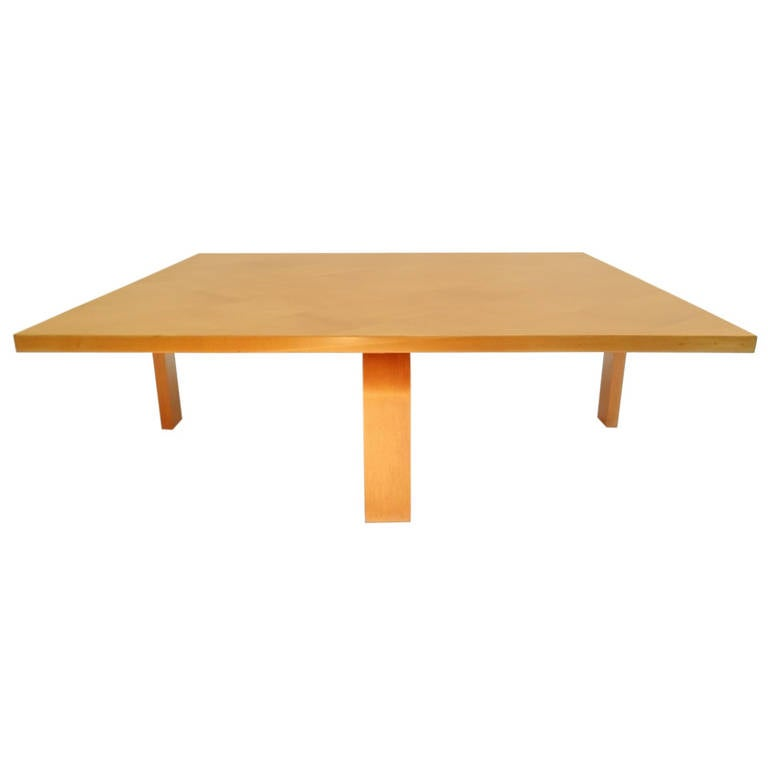 Rare Poul Kjærholm Pk66 Coffee Table