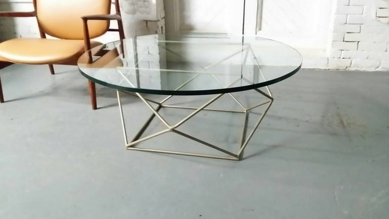 Geometric Coffee Table By Milo Baughman At Stdibs - Geometric base coffee table
