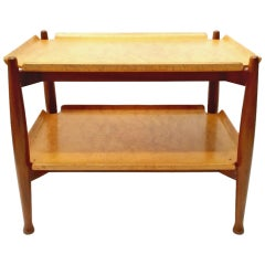 Dunbar Two-Tiered End Table Designed by Edward Wormley