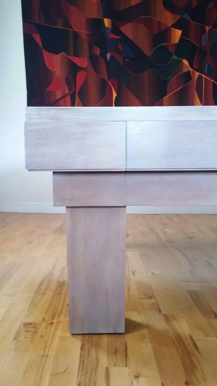 Contemporary Custom Pool Table Designed by Thomas O'Brien of Aero Studios For Sale