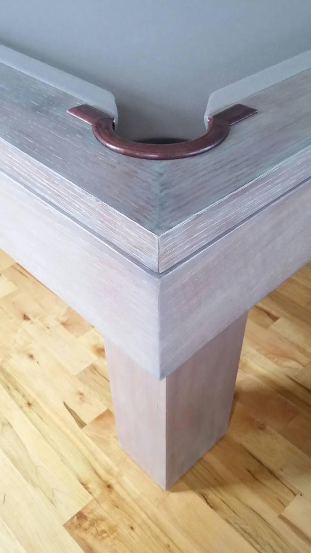 Custom Pool Table Designed by Thomas O'Brien of Aero Studios For Sale 4
