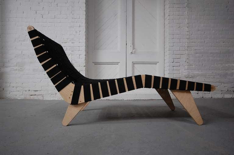 Klaus Grabe Model C5 Chaise Longue 2