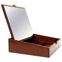 Handcrafted Jewelry Box by Ejnar Larsen and Aksel Bender Madsen for Willy Beck