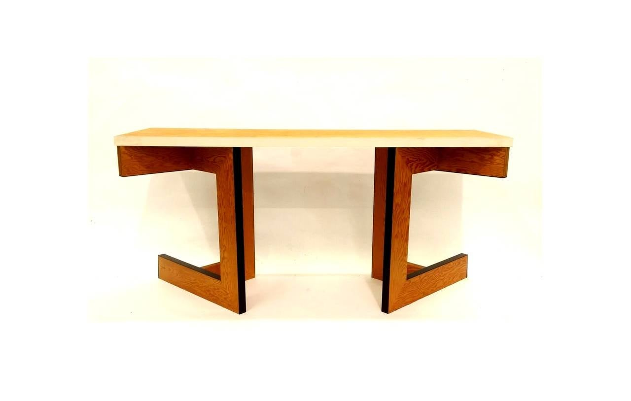 American Console Table or Desk by Eric Freeman For Sale