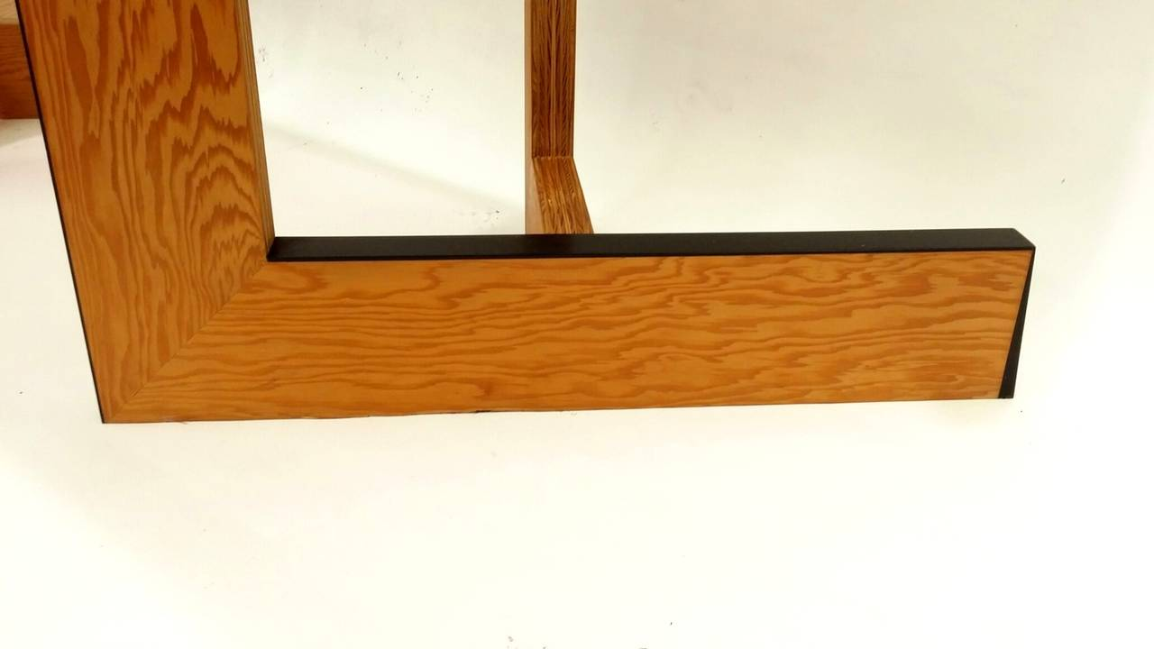 Console Table or Desk by Eric Freeman In Excellent Condition For Sale In Providence, RI