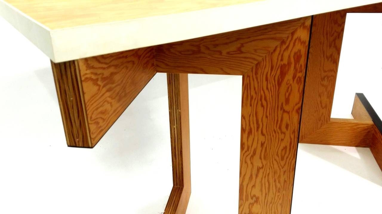 Contemporary Console Table or Desk by Eric Freeman For Sale