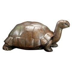 Rare Paul Manship Bronze Tortoise