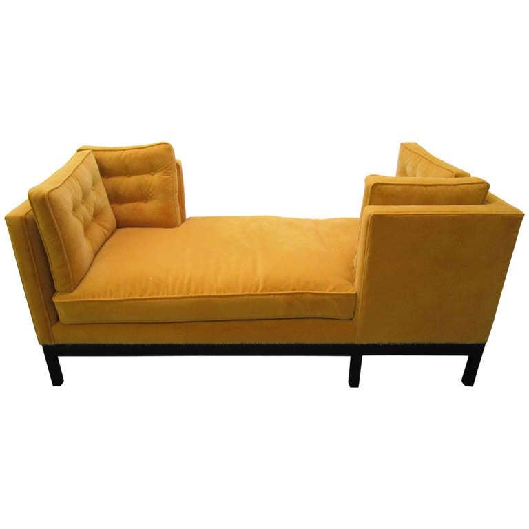 Outstanding Harvey Probber Tete E Tete Sofa Mid Century Modern At 1stdibs