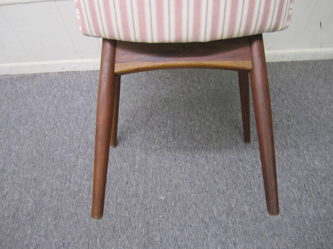 American Four Adrian Pearsall High Back Dining Chairs by Craft Associates, Mid-Century For Sale