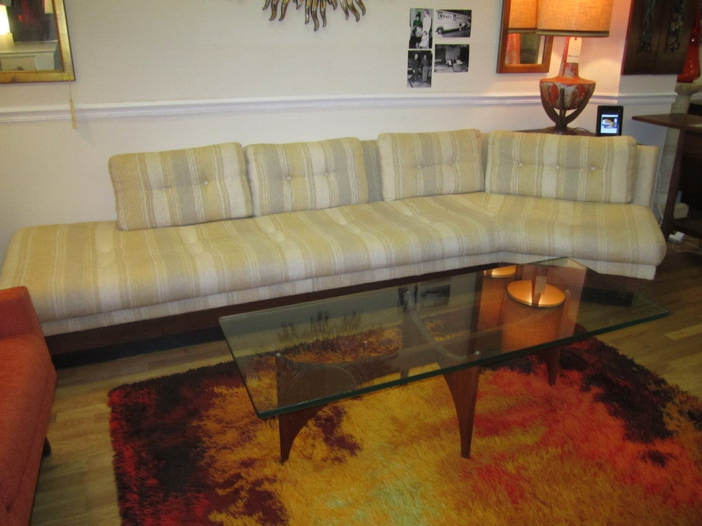 Adrian Pearsall Boomerang Platform Sofa Mid-century For Sale 6