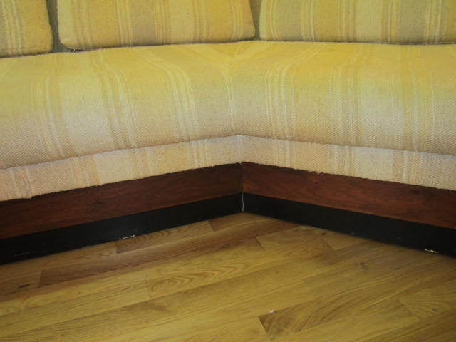Adrian Pearsall Boomerang Platform Sofa Mid-century For Sale 2