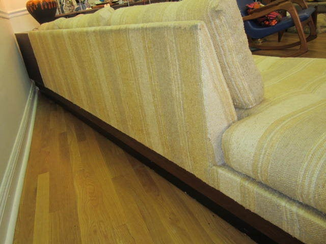 Adrian Pearsall Boomerang Platform Sofa Mid-century For Sale 3