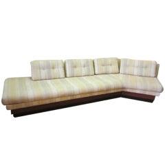 Adrian Pearsall Boomerang Platform Sofa Mid-century