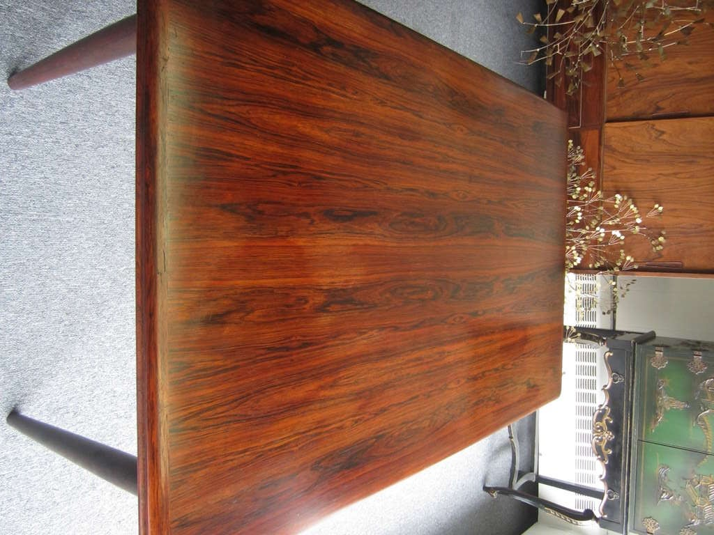 breathtaking danish scandinavian dining room furniture | Amazing Danish Modern Rosewood Extension Table For Sale at ...