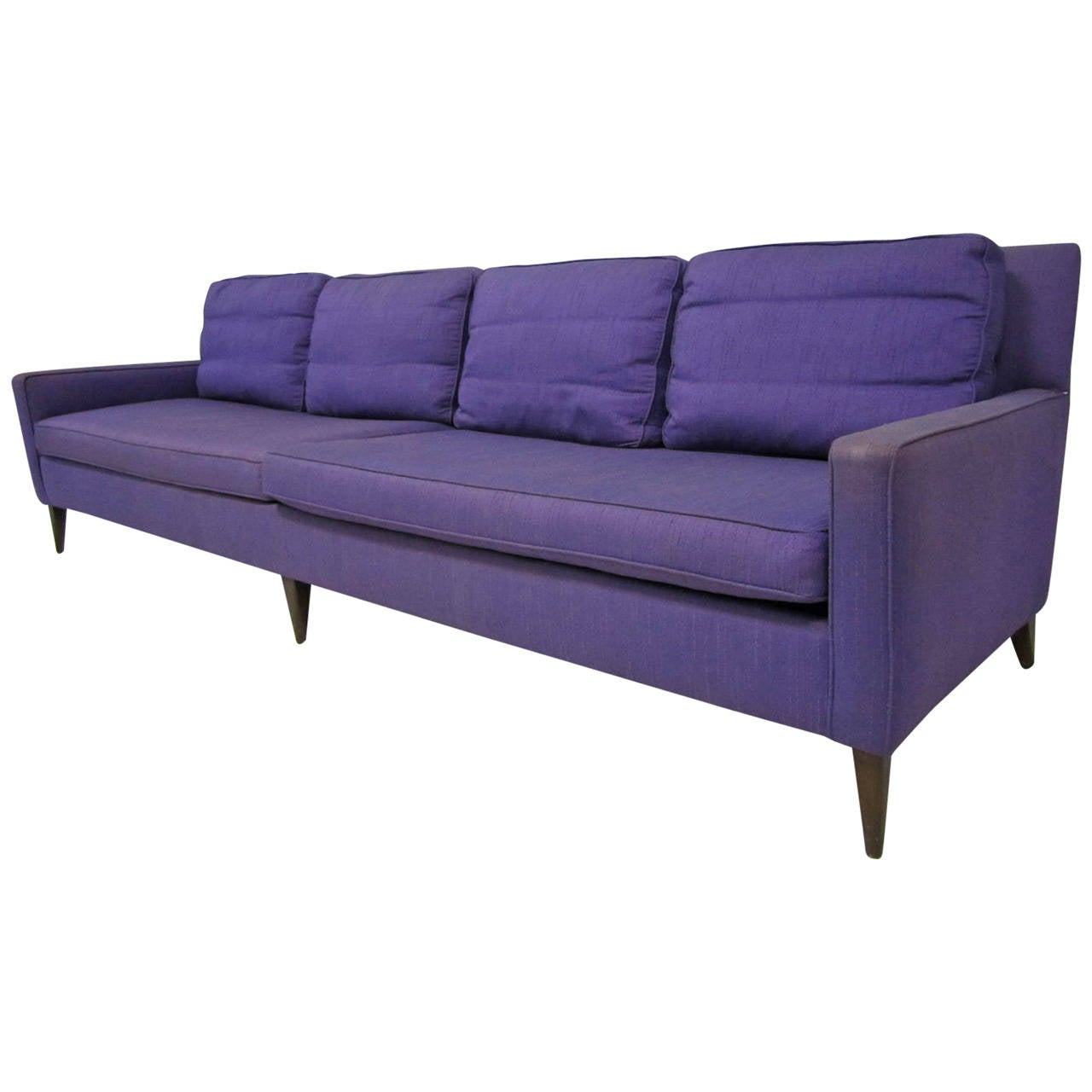 Stunning signed paul mccobb long sofa mid century modern for Long couches for sale