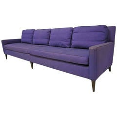 Stunning Signed Paul McCobb Long Sofa, Mid-Century Modern