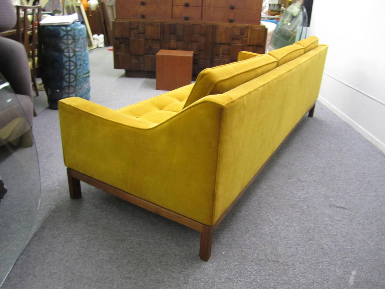 afk furniture dot and bo careers mid century modern sofa