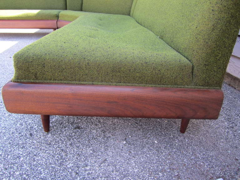 American Wonderful Adrian Pearsall Four-Piece Sectional Sofa, Mid-Century Modern