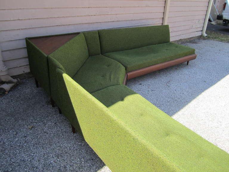 Wonderful Adrian Pearsall Four-Piece Sectional Sofa, Mid-Century Modern 2