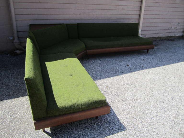 Wonderful Adrian Pearsall Four-Piece Sectional Sofa, Mid-Century Modern 3