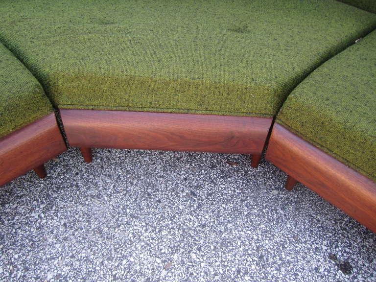 Wonderful Adrian Pearsall Four-Piece Sectional Sofa, Mid-Century Modern 1