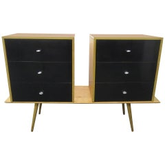 Paul McCobb Planner Group Floating Dressers on Table