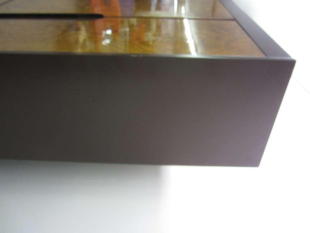 Milo Baughman Burled Wood Tall Dresser Cabinet Mid-Century Modern 7